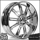 24inch Wheels and Tires Rims Chevy,Ford,Cad​illac,Ram