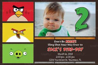 angry birds invitation in Printing & Personalization
