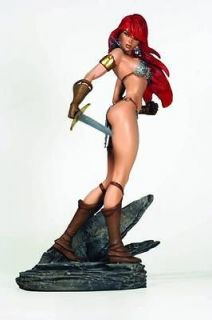 RED SONJA J. SCOTT CAMPBELL INSPIRED STATUE SHE DEVIL WITH A SWORD