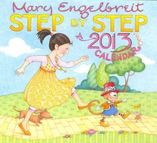 Mary Engelbreit 2013 Step By Step Wall Calendar NEW