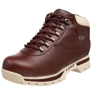 LUGZ HATCHET MENS WORK BOOT MHTCV 639 OX BLOOD LEATHER RETAIL PRICE $