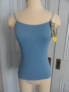 NWT JOCKEY NO PANTY LINE PROMISE BLUE CAMISOLE SMALL MODAL