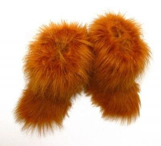 new fur furry boots very warm, weather proof eskimo SNOW MANS