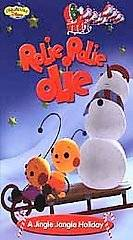 Rolie Polie Olie A Jingle Jangle Holiday (VHS, 2001, Clam Shell Case)