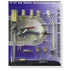 18 pc Air Compressor Hose Tool Tools Accessory Kit