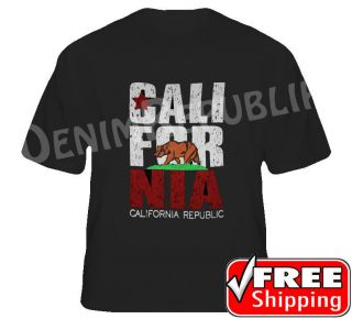 California Republic WOMENS & Youth Shirts So Cal Los Angeles Cali Bear