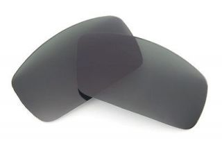 Stealth Black Replacement Lenses for Oakley Canteen Sunglasses