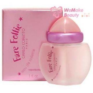 FARE FOLLIE   CARLO CORINTO Women 3.3 oz EDT Spray * NEW IN BOX *