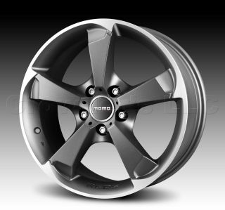 MOMO Car Wheel Rim Drone Anthracite 17 x 7.5 inch 5 on 100 mm