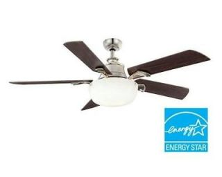 Hampton Bay Winfield 52 Ceiling Fan w/ Light Kit & Remote Control