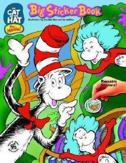 The Cat in the Hat Big Sticker Book by Lisa Findlay 2003, Paperback