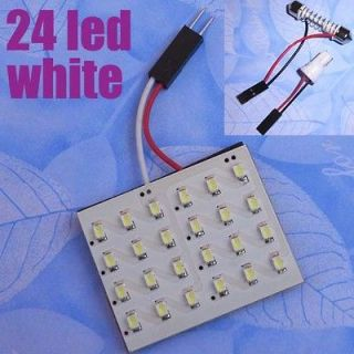 LED 5050 SMD White Interior Room Dome Door Car Light Panel Lamp Bulb