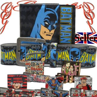and Belt Boxed Set Cartoon Vintage Hero Villian Comic TV Film Mens