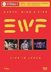 Earth, Wind Fire   Live In Japan DVD, 2008, DVD CD Combo