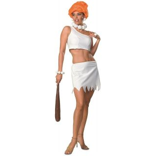 Wilma Flintstone The Flintstones Adult Cave Girl Cavegirl Halloween