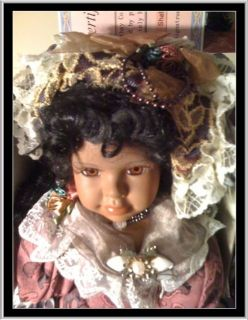 CATHAY COLLECTION PORTION DOLL NAMED SHELBY MIB COA