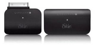 iSkin Cerulean Bluetooth A2DP Audio Transmitter + Receiver for iPod
