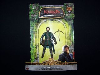 Chronicles Narnia Prince Caspian General Glozelle loose 100% 2nd NEW
