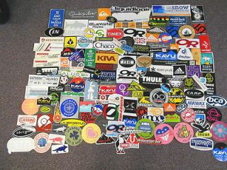143 STICKERS Chaco kavu Marmot OR Scarpa Life is Good Vasque