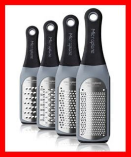 MICROPLANE ZESTER GRATER CITRUS CHEESE CHOCOLATE   Grey Artisan Series