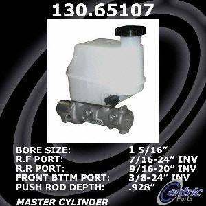Centric Parts 130.65107 Brake Master Cylinder
