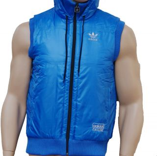 ADIDAS ORIGINALS CHILE 62 MEN´s GILET JACKET SLEEVELESS PADDED XS