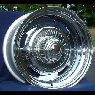 15 7&8 Chevy Camaro Chrome Rally Wheels 1969 1977