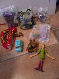 Scooby Doo NIP Burger King Toys Wendys Shaggy Scrappy Doo Mystery