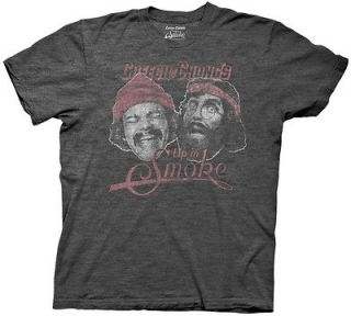 New Cheech & Chongs Up in Smoke Movie Vintage Distressed Faded Soft T