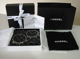 chanel logo earrings in Earrings