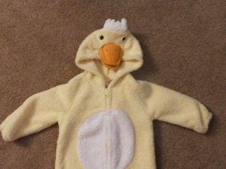 Old Navy Baby Infant Newborn Duck Chicken Yellow Halloween Costume