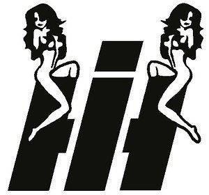 Case / International Harvester IH Girl Vinyl Decal / Sticker