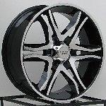 Black Wheels Rim Chevy Silverado Truck Tahoe Suburban Avalanche 6 Lug