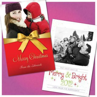 Personalised Christmas Cards, Xmas Multi pack, Special Xmas Prices