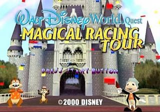 Walt Disney World Magical Racing Tour Nintendo Game Boy Color, 2000