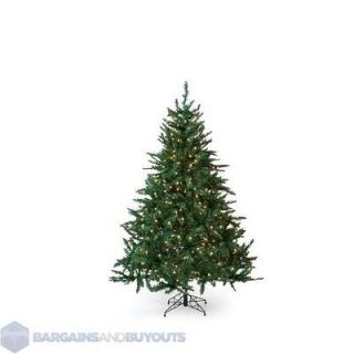 Holiday Classic Pine 5.5 Ft. Full Pre lit Christmas Tree Clear Lights