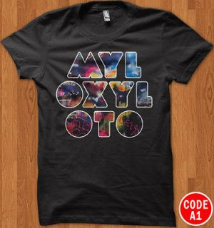 COLDPLAY Chris Martin Mylo Xyloto Rock Band Tour T Shirt Tee All Size