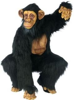 Chimpanzee Monkey Adult Animal Chimp Halloween Costume