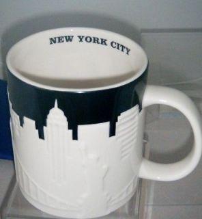 New York City Relief 2012 Coffee Mug Bone China 16oz New Siren Logo