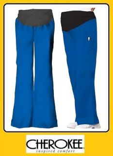 2092   ROYAL   Cherokee Scrubs Flexibles Maternity Pants   RYLB