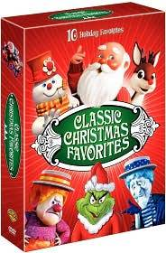 Classic Christmas Favorites DVD, 2008, 4 Disc Set