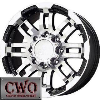 Vision Warrior Wheels Rims 8x165.1 8 Lug Chevy GMC Dodge 2500 2500HD