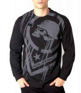 Metal Mulisha Dissolve L/S T Shirt Black clothing mens fmx motox