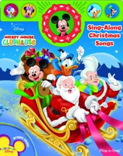 Mickey Mouse Clubhouse Sing along Christmas Songs Holiday Play a Song