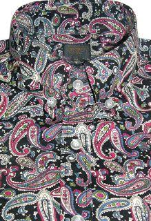 paisley shirt mens in Casual Shirts