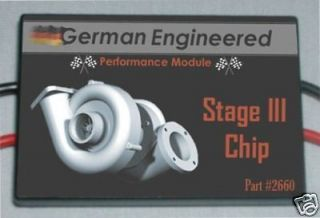 Chrysler Crossfire performance chip