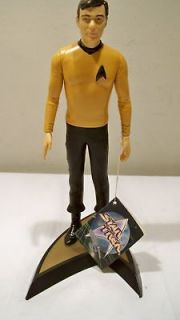 NEW 1991 Hamilton Star Trek Captain Kirk Doll w/Stand