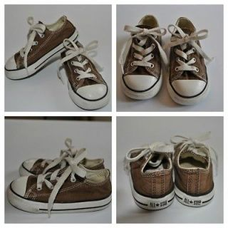 Classic Converse Chuck Taylor Low Tops Shoes Velcro & Tie   Take Your