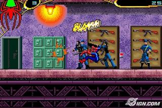 Spider Man 2 Nintendo Game Boy Advance, 2004