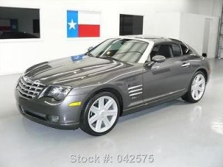Chrysler  Crossfire WE FINANCE 2005 CHRYSLER CROSSFIRE LTD AUTO